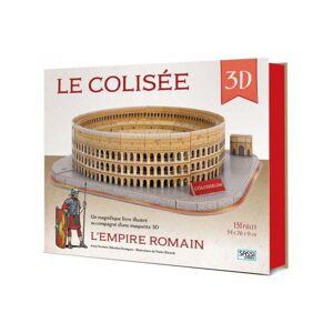 SASSI JUNIOR L'Empire Romain. Le Colisée 3D - Dès 6 Ans