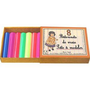 MARC VIDAL 8 Bâtonnets de Vraie Pâte à Modeler - Dès 3 ans