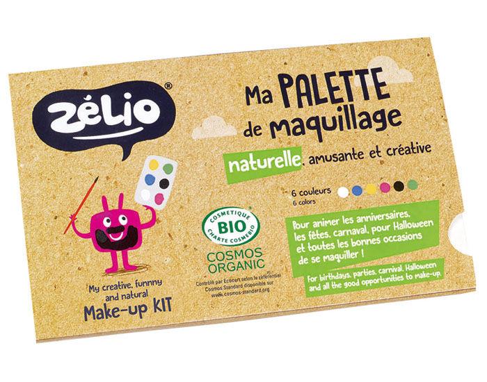 ZéLIO ZELIO Ma Palette Maquillage Naturelle et Créative