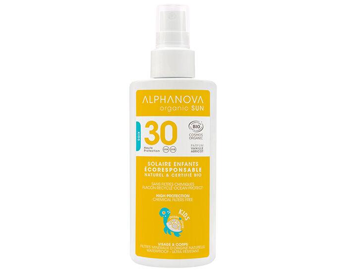 ALPHANOVA Sun Kids Lait Solaire Bio Haute Protection - SPF 30 - 125 g