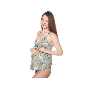 BOGEMA Tankini de grossesse India Bleu turquin S