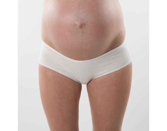 BOGEMA Culotte de grossesse coton BIO Blanc M