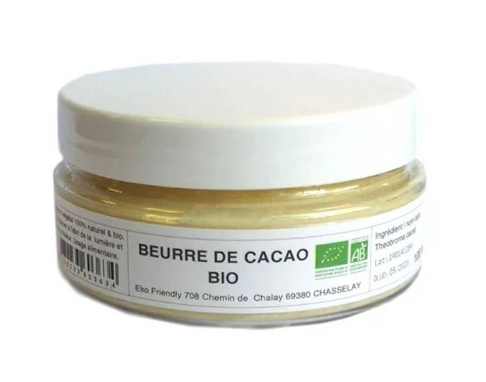 MYCOSMETIK Beurre de Cacao Bio - 100ml