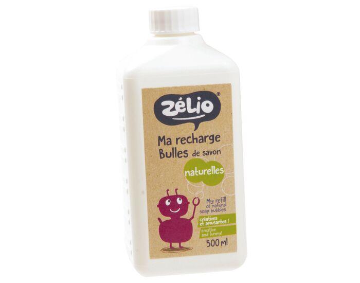ZéLIO ZELIO Recharge Bulles de Savon Bio - 500 ml