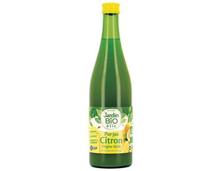 JARDIN BIO Pur Jus de Citron - 50 cl