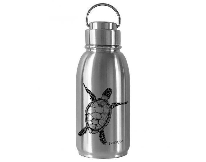 GASPAJOE Gourde en Inox - Collection Friendly - 700 ml Tortue Noire