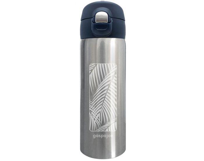 GASPAJOE Mug isotherme en Inox Collection - Trendy - 350ml Palmier