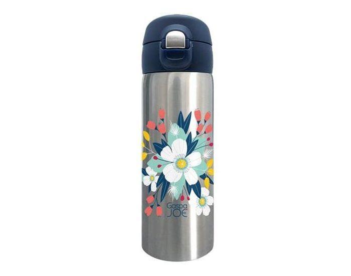 GASPAJOE Mug isotherme en Inox Collection - Trendy - 350ml Bouquet