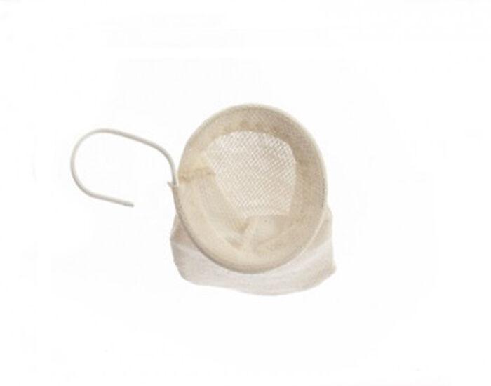 LES JARDINS DE GAIA Filtre à Thé Lavable  7 cm