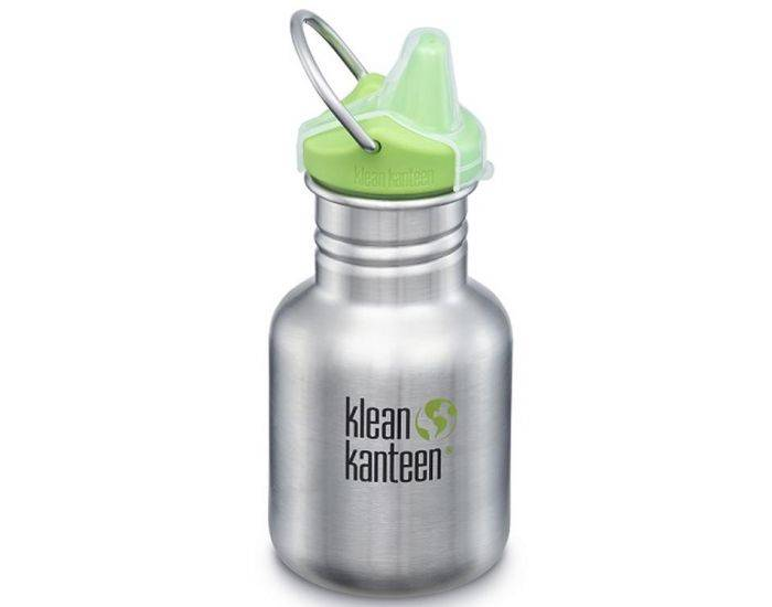 KLEAN KANTEEN Gourde Inox Sippy - bouchon Sippy - 355ml Brushed Stainless