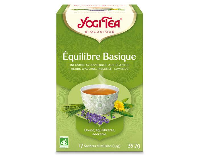 YOGI TEA Tisanes en Sachet - Équilibre Basique - 17 Sachets