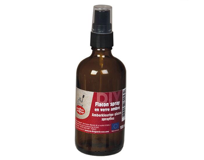 LA DROGUERIE ECOPRATIQUE LA DROGUERIE ECOLOGIQUE Flacon Spray en Verre Ambré - 100ml