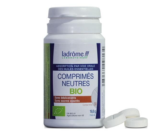 LADRôME LADROME Comprimés Neutres Bio pour Huiles Essentielles - 30 cp