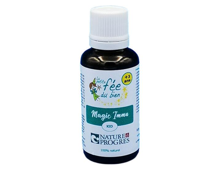 LA PETITE FéE DU BIEN LA PETITE FEE DU BIEN Huile de Massage Magic'Immu - 30 ml - Dès 3 ans