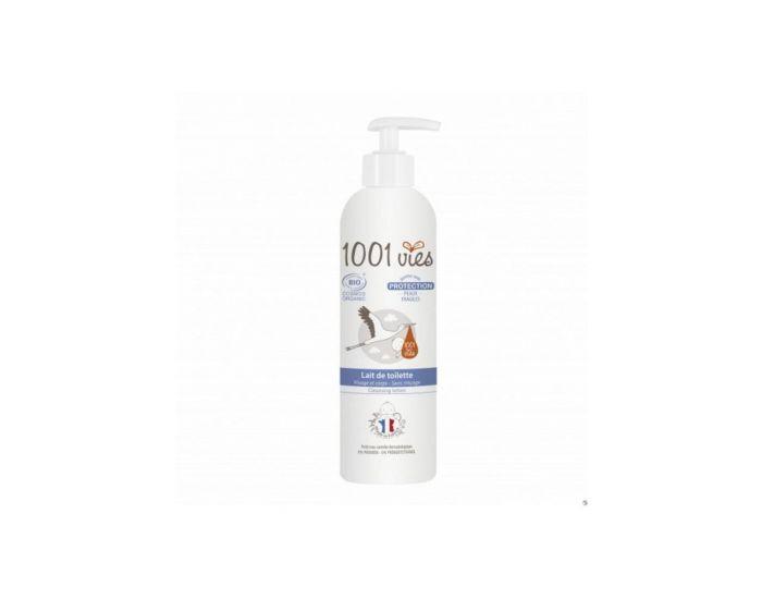 1001 VIES Lait De Toilette Bio - Peaux Sensibles - 400ml 400 ml