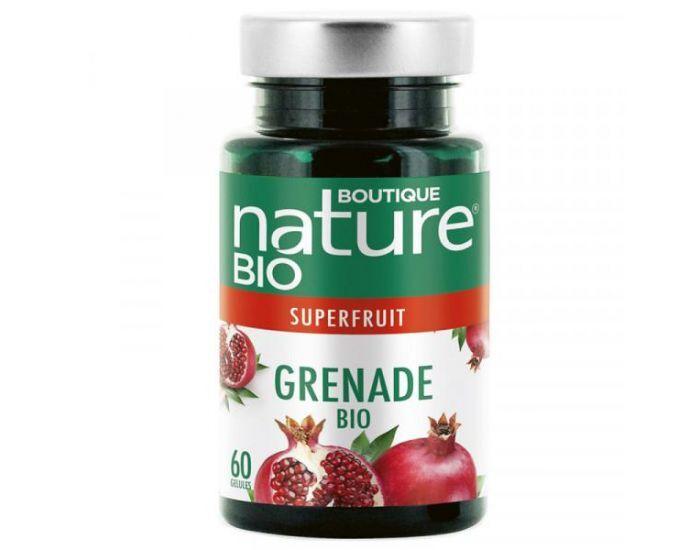 BOUTIQUE NATURE Grenade Bio - 60 gélules végétales de 430 mg