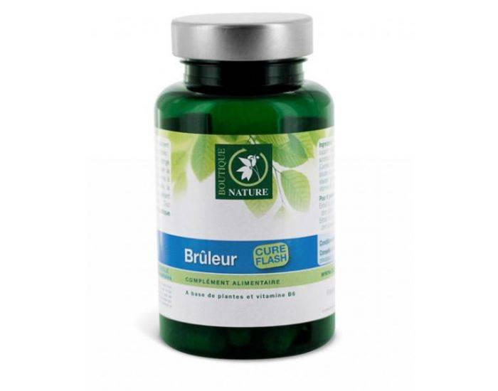 BOUTIQUE NATURE Brûleur gélules végétales 180 gélules