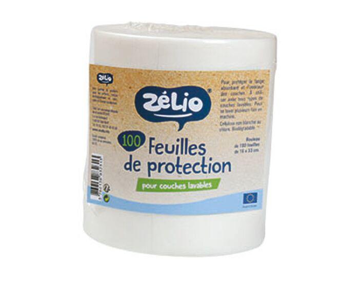 ZéLIO ZELIO Rouleau de 100 Feuilles de Protection Cellulose