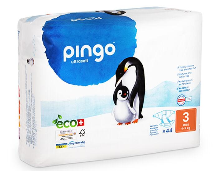 PINGO Couches Écologiques Ultra Soft T3 / 4-9 kg / 44 couches