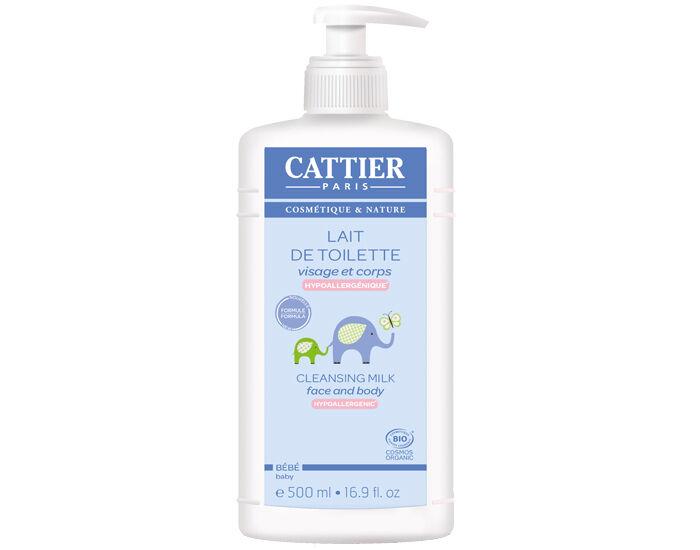 CATTIER Lait de Toilette Bébé 500 ml