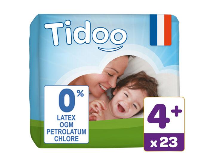 TIDOO Couches Écologiques Nature T4+ / 9-20 kg / 23 couches