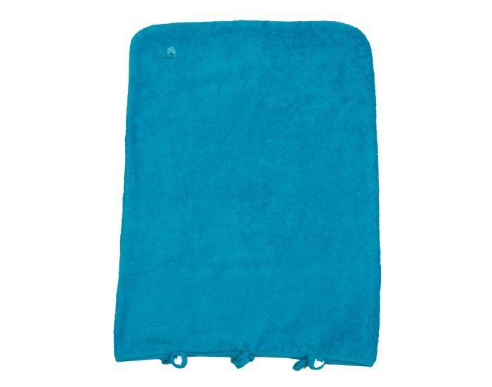 EVEIL ET NATURE Housse Matelas à Langer - 50x70 cm Bleu