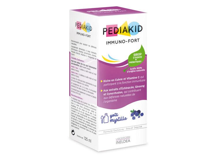 PEDIAKID Complément alimentaire Myrtille aux plantes, vitamines et minéraux - Dès 6 mois  125 ml