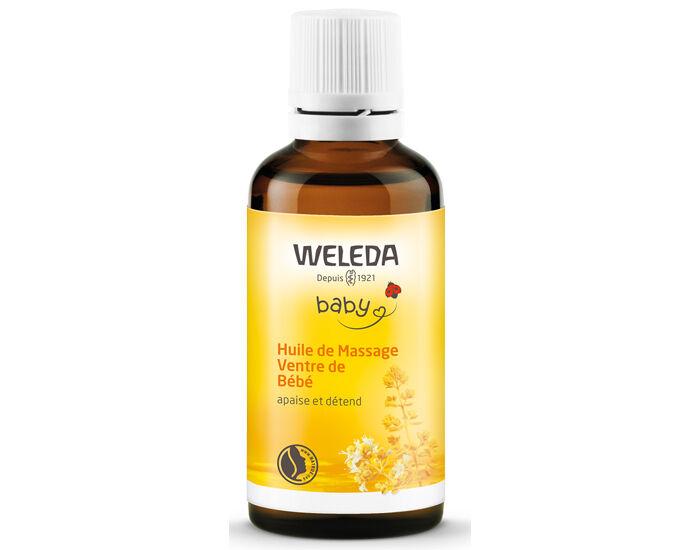 WELEDA Bébé Huile Massage Ventre de Bébé - 50 ml