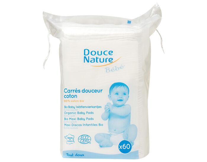 DOUCE NATURE Maxi Carrés Douceur Coton Bio