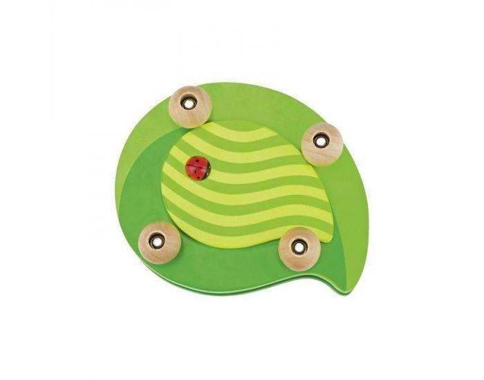 Montessori S'amuser Autrement Presse-Fleurs Coccinelle en Bois - Dès 3 ans
