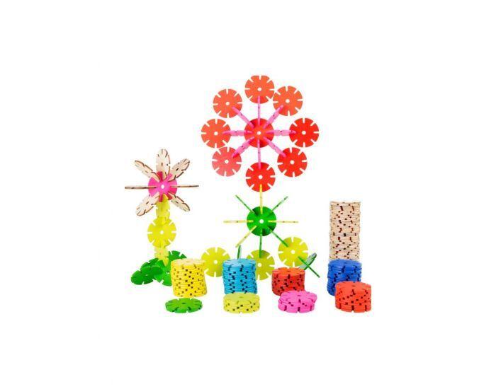 Montessori S'amuser Autrement 240 Flocons en Bois - Dès 5 ans