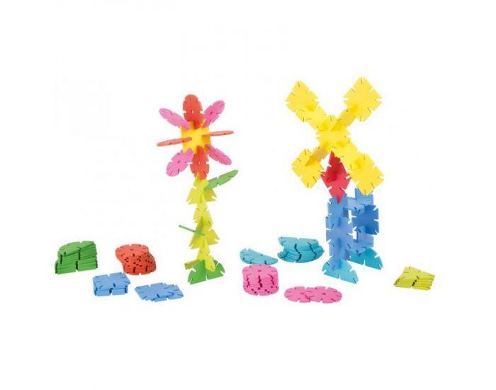 Montessori S'amuser Autrement 120 Flocons et Formes Géométriques en Bois - Dès 5 ans