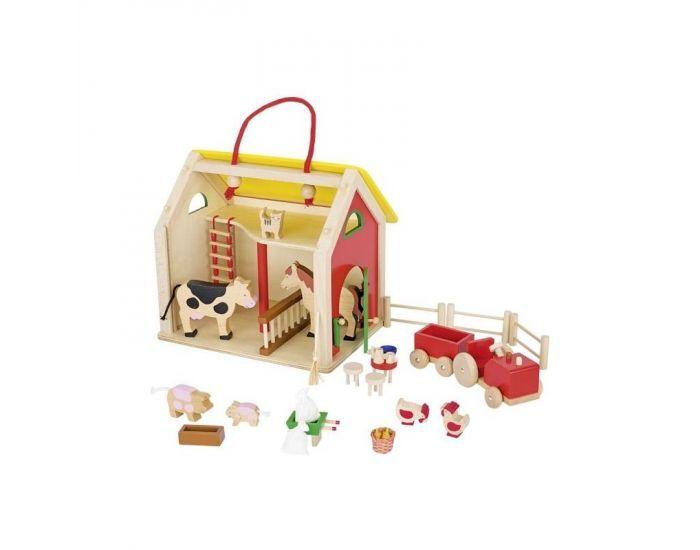 Montessori S'amuser Autrement Ferme + accessoires - Dès 3 ans