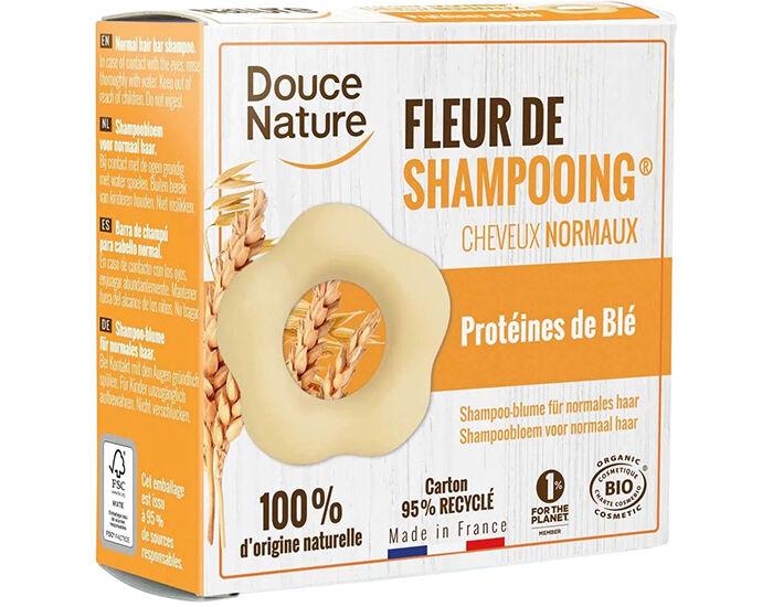 DOUCE NATURE Fleur de Shampooing Cheveux Normaux - 80 g