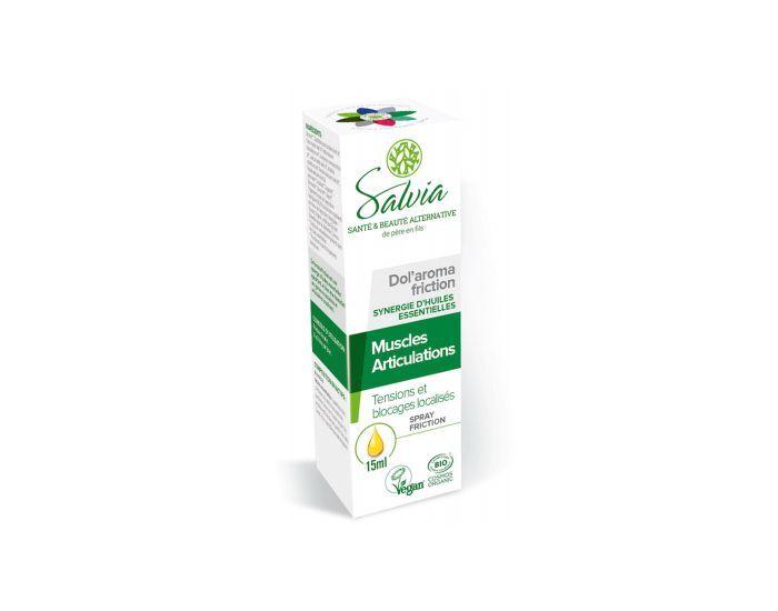 SALVIA NUTRITION Dol'Aroma Friction aux Huiles Essentielles Bio