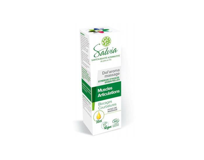 SALVIA NUTRITION Dol'Aroma Huile de Massage Bio