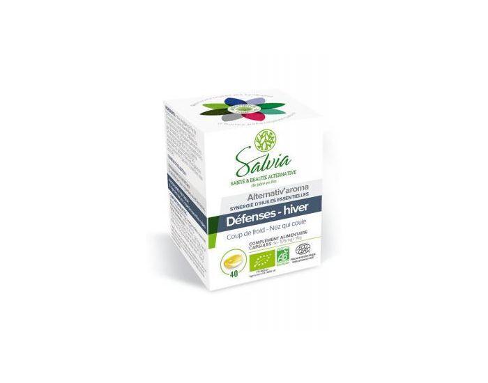 SALVIA NUTRITION Alternativ'Aroma Huiles Essentielles Bio 40 Capsules