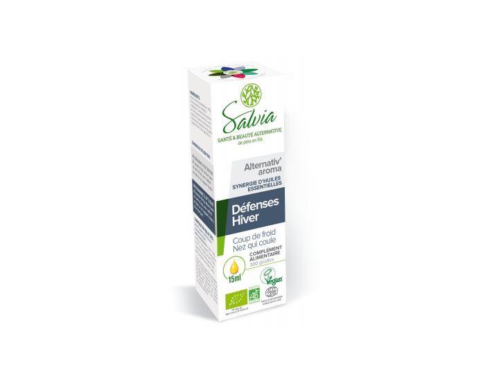 SALVIA NUTRITION Alternativ'Aroma Gouttes aux Huiles Essentielles Bio