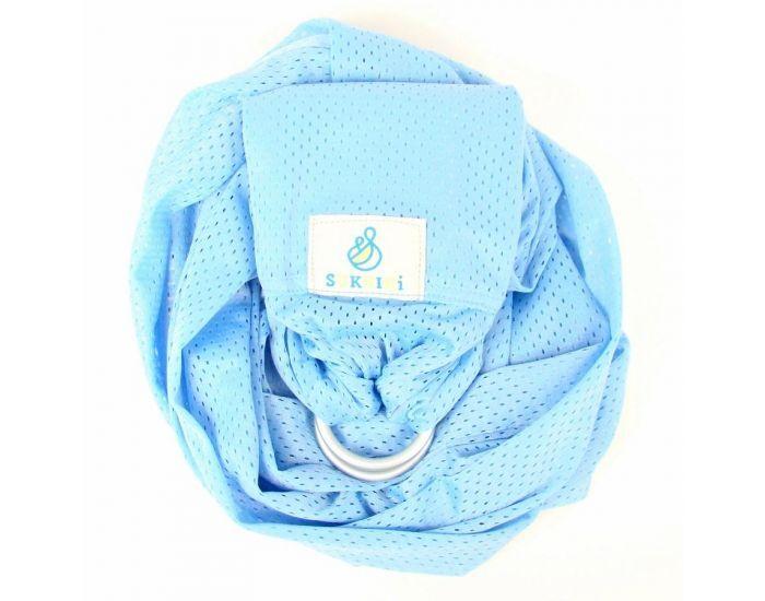 LUCKY FRANCE Porte-bébé Sling - Sukkiri Bleu Ciel