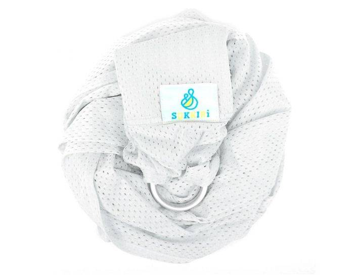 LUCKY FRANCE Porte-bébé Sling - Sukkiri Blanc