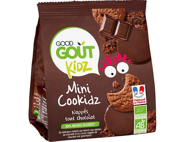 GOOD GOûT GOOD GOUT Kidz Cookidz Nappés Chocolat - 115g - Dès 3 ans