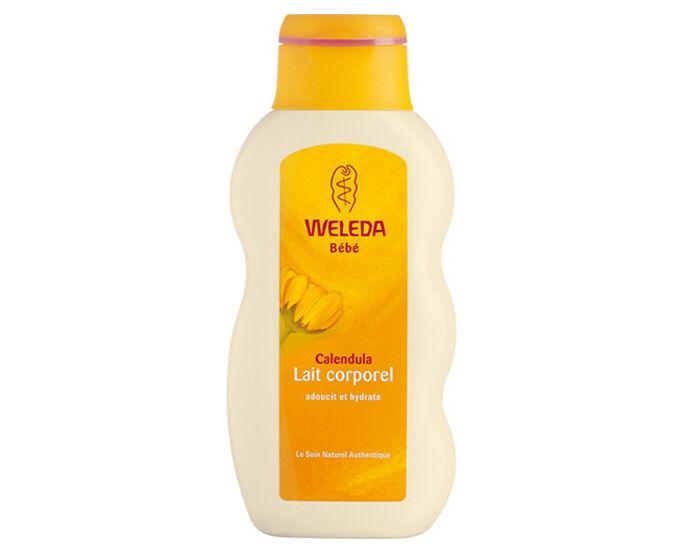 WELEDA Pack x2 Bébé Lait Corporel au Calendula - 200 ml