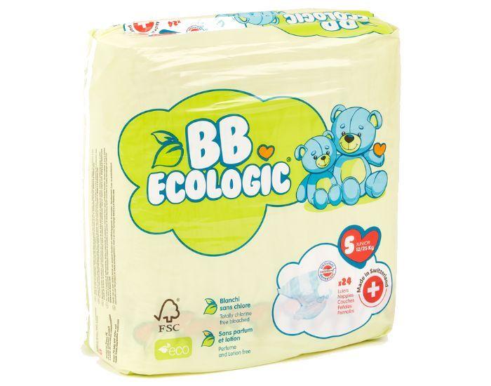 BB ECOLOGIC BB ECOLOGIC Couches Écologiques T5 Junior (12-25kg) - 24 Couches 6 paquets