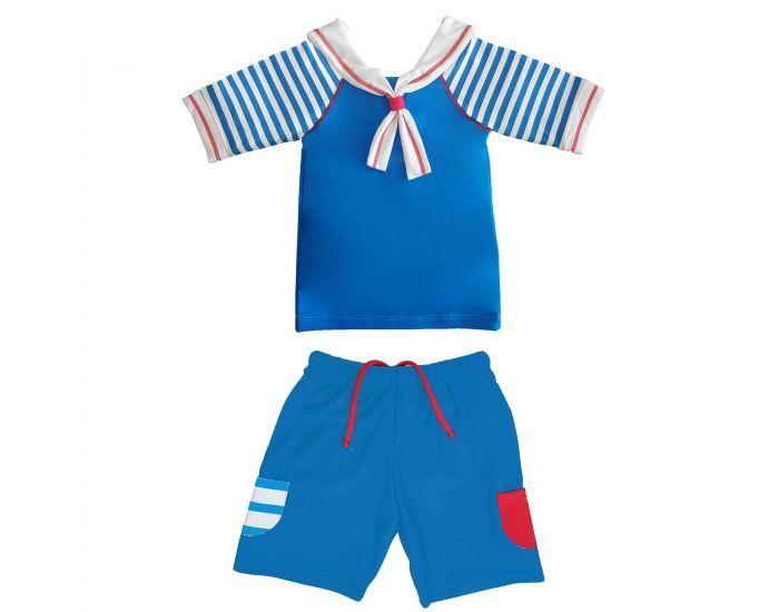 MAYOPARASOL Le Petit Prince Tee-Shirt Anti UV et Short avec Couche Intégrée Taille 6 mois