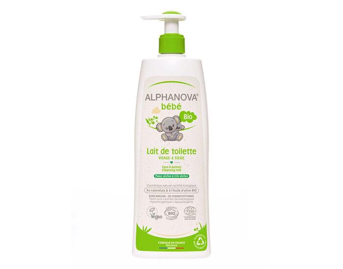 ALPHANOVA Bébé Lait de Toilette - 500 ml