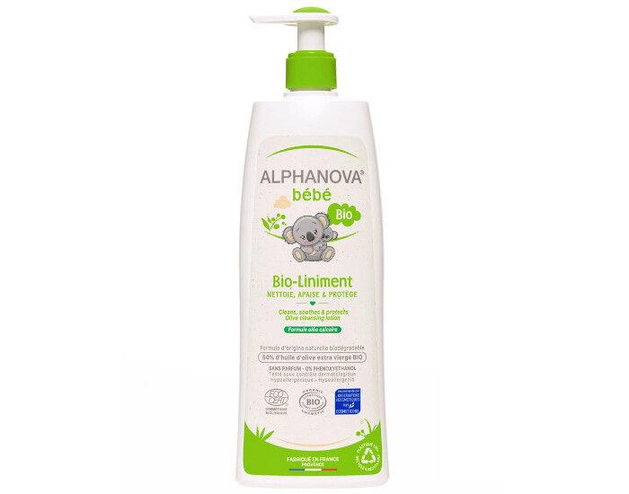 ALPHANOVA Bébé Bio-Liniment Oléo Calcaire - 500 ml