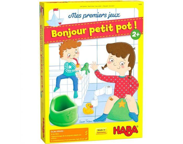 HABA Mes Premiers Jeux : Bonjour Petit Pot  - Dès 2 Ans