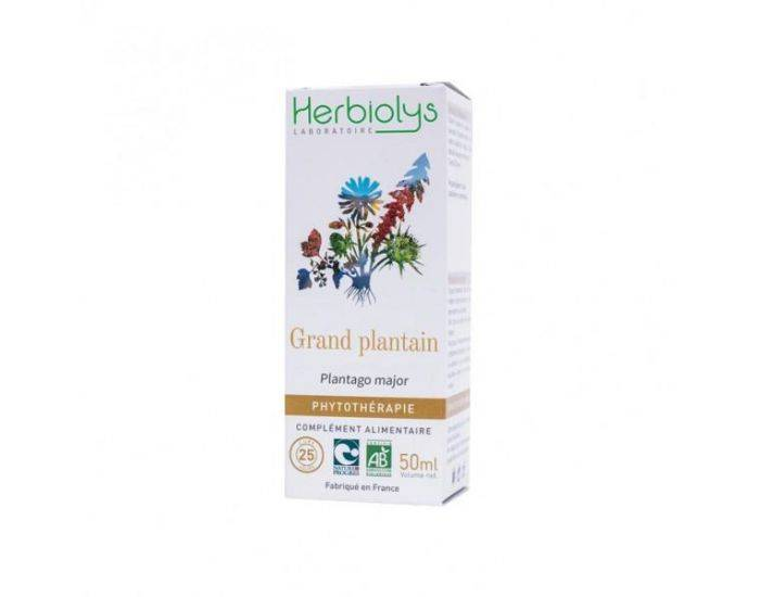 HERBIOLYS Grand Plantain Bio - 50 ml