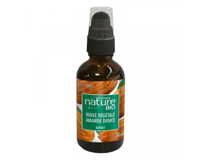 BOUTIQUE NATURE Huile végétale Amande douce Bio - 50 ml