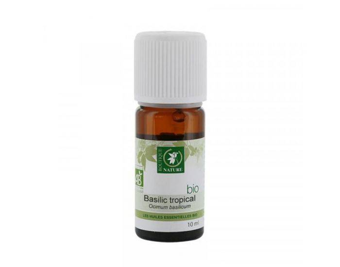 BOUTIQUE NATURE Huile essentielle Basilic Tropical Bio - 10 ml
